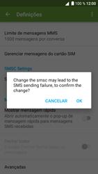 BQ Aquaris U - SMS - Como configurar o centro de mensagens -  8