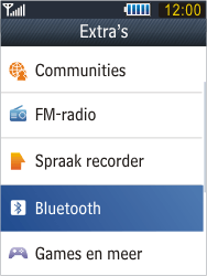 Samsung B3410 Star Qwerty - Bluetooth - koppelen met ander apparaat - Stap 6