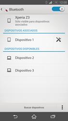 Sony Xperia Z3 - Bluetooth - Conectar dispositivos a través de Bluetooth - Paso 8