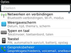 BlackBerry 9360 Curve - Voicemail - Handmatig instellen - Stap 4