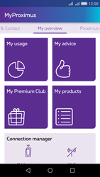 Huawei Y6 - Applications - MyProximus - Step 11