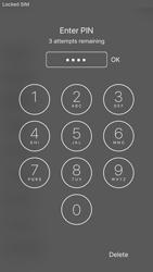 Apple iPhone iOS 10 - Primeiros passos - Como ativar seu aparelho - Etapa 5