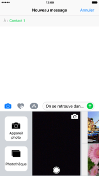 Apple iPhone 7 Plus - Contact, Appels, SMS/MMS - Envoyer un MMS - Étape 11