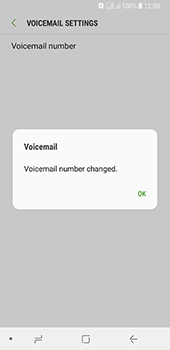 Samsung Galaxy A8 (2018) - Voicemail - Manual configuration - Step 12