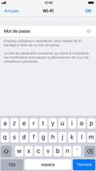 Apple iPhone 7 iOS 11 - Internet et connexion - Partager votre connexion en Wi-Fi - Étape 6