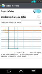 LG G2 - Internet - Ver uso de datos - Paso 8