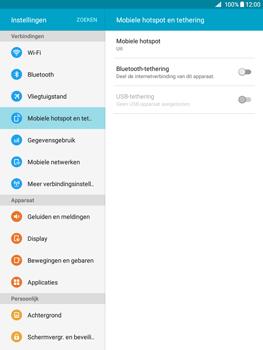 Samsung Galaxy Tab A 9.7 (SM-T555) - WiFi - Mobiele hotspot instellen - Stap 5