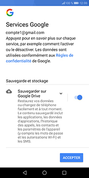 Huawei P Smart - E-mail - Configurer l