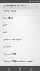 Sony Xperia M2 - MMS - Como configurar MMS -  13
