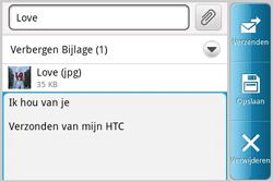HTC A810e ChaCha - E-mail - E-mails verzenden - Stap 11