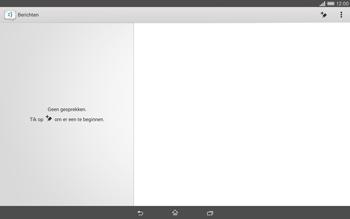Sony Xperia Tablet Z2 (SGP521) - MMS - afbeeldingen verzenden - Stap 3
