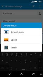 HTC One M8s - MMS - envoi d'images - Étape 14