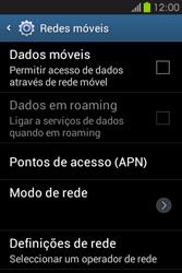 Samsung Galaxy Fame - Internet no telemóvel - Como ativar os dados móveis -  6
