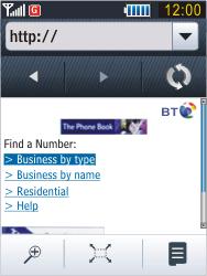 Samsung B3410 Star Qwerty - Internet - Internet browsing - Step 12