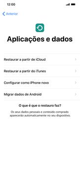Apple iPhone XR - Primeiros passos - Como ligar o telemóvel pela primeira vez -  14