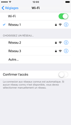 Apple iPhone 6s iOS 10 - Wifi - configuration manuelle - Étape 6