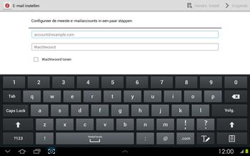 Samsung P5100 Galaxy Tab 2 10-1 - E-mail - Handmatig instellen - Stap 6