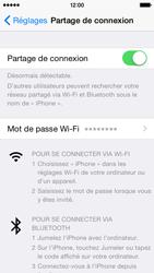Apple iPhone 5c (iOS 8) - Internet et connexion - Partager votre connexion en Wi-Fi - Étape 9