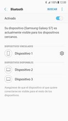 Samsung Galaxy S7 - Android Nougat - Bluetooth - Conectar dispositivos a través de Bluetooth - Paso 9