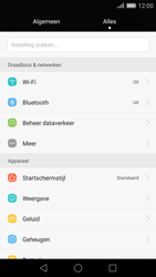 Huawei P8 (Model GRA-L09) - WiFi - Handmatig instellen - Stap 3
