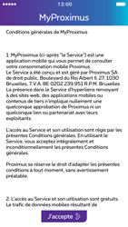 Apple iPhone 5 iOS 10 - Applications - MyProximus - Étape 13