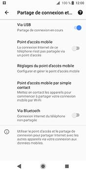 Sony Xperia XZ2 - Internet et connexion - Utiliser le mode modem par USB - Étape 11