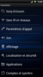 Sony Ericsson Xperia Play - Internet - Configuration manuelle - Étape 4