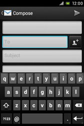 Sony C1505 Xperia E - Email - Sending an email message - Step 5