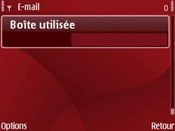 Nokia E63 - E-mail - Configuration manuelle - Étape 7
