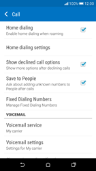 HTC Desire 626 - Voicemail - Manual configuration - Step 5