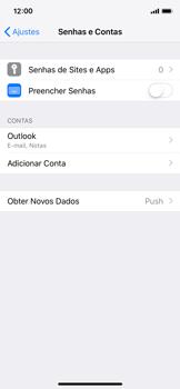 Apple iPhone iOS 12 - Email - Como configurar seu celular para receber e enviar e-mails - Etapa 10