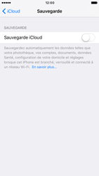 Apple iPhone 6s iOS 10 - Device maintenance - Back up - Étape 11