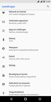Nokia 5.1 - Internet - Handmatig instellen - Stap 4