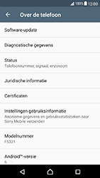 Sony Xperia X Compact (F5321) - Software updaten - Update installeren - Stap 5