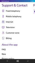 Nokia Lumia 735 - Applications - MyProximus - Step 22