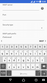 Sony Xperia L1 - Email - Manual configuration - Step 12