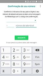 Samsung Galaxy J5 (2016) DualSim (J510) - Aplicações - Como configurar o WhatsApp -  7