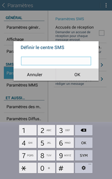 Samsung T335 Galaxy Tab 4 8-0 - SMS - Configuration manuelle - Étape 8