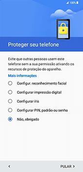 Samsung Galaxy S8 Plus - Primeiros passos - Como ligar o telemóvel pela primeira vez -  13