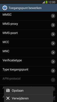 Samsung N9005 Galaxy Note III LTE - Internet - handmatig instellen - Stap 17