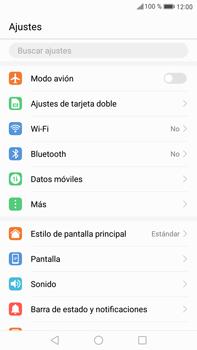 Huawei Mate 9 - Red - Seleccionar el tipo de red - Paso 3