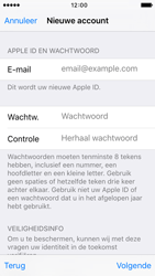 Apple iPhone 5 iOS 9 - Applicaties - Account aanmaken - Stap 12
