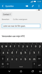 HTC One M8s (Model 0PKV100) - E-mail - Hoe te versturen - Stap 9