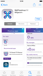 Apple iPhone 6 iOS 8 - Applications - MyProximus - Step 6