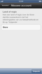 Apple iPhone 5 - Applicaties - Account aanmaken - Stap 5