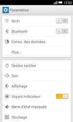 Alcatel OT-5050X Pop S3 - Internet et connexion - Accéder au réseau Wi-Fi - Étape 4