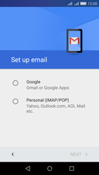 Huawei Y6 - Email - 032a. Email wizard - Gmail - Step 7