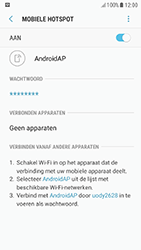 Samsung Galaxy A3 (2017) - Android Nougat - WiFi - Mobiele hotspot instellen - Stap 12