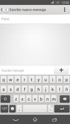Sony Xperia E4g - Mensajería - Escribir y enviar un mensaje multimedia - Paso 5