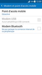Samsung Galaxy Grand Prime (G530FZ) - Internet et connexion - Utiliser le mode modem par USB - Étape 5